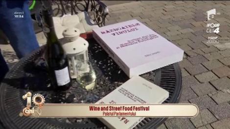 Wine and Street Food Festival, la Palatului Parlamentului