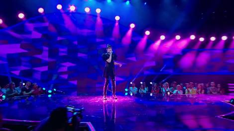 "Amy Winehouse - Back To Black. Vezi cum cântă Ruxandra Anania, la ""The Four - Cei 4""!"