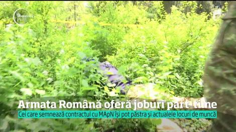 Armata Română caută voluntari. Militarii au scos la concurs 3.400 de posturi cu jumătate de normă