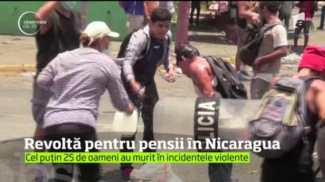 Revoltă pentru pensii în Nicaragua