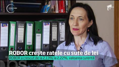 Vești proaste pentru mii de români! Indicele ROBOR a atins cel mai mare nivel din 2018, iar ratele vor sări în aer la creditele în lei