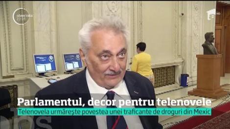 Renumit pentru scenele lacrimogene şi intrigi, Parlamentul României este dorit şi de producătorii de telenovele