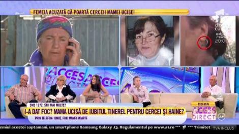 """Elisabeta Milici, mama presupusului ucigaș: """"Nu e nimic adevărat din ce vă spune Liliana"""""""