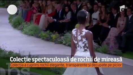 Colecție spectaculoasă de rochii de mireasă, la Barcelona