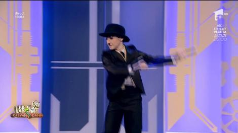 Alexandru Constantin, Charlie Chaplin de România, a dansat la Neatza!