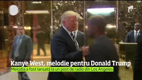Rapperul Kanye West, melodie pentru Donald Trump