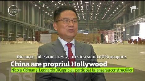 China a construit un oraş imens dedicat cinematografiei, în scopul de a atrage marile case de producţie de peste Ocean
