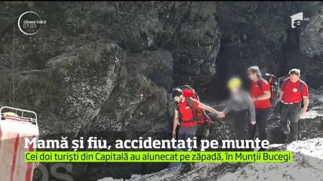 Doi turişti din Capitală, o mamă şi fiul ei de 11 ani, au fost la un pas de moarte