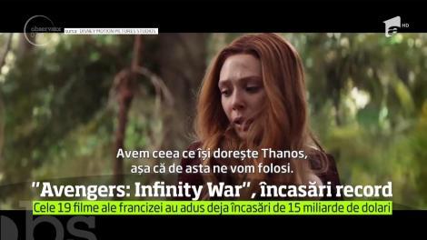 """Unul dintre cele mai aşteptate filme ale anului, """"Avengers: Infinity War"""", a depăşit toate aşteptările privind încasările! Un român joacă în megaproducție"""