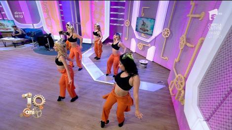 Trupa Vogue, grație și dans la Neatza