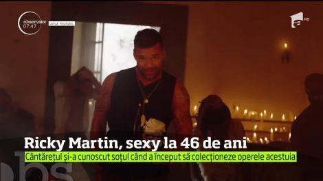Ricky Martin a încins internetul cu o fotografie în care îşi arată trupul bine lucrat în sala de forţă! La 46 de ani, arată bestial!