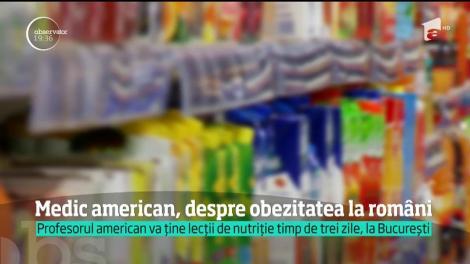 Medic americam, despre obezitatea la români: bolile cardiovasculare şi cancerul pândesc în fiecare zi