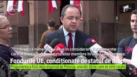 Veste cruntă pentru români! Ţările membre ale UE ar putea fi sancţionate financiar dacă nu respectă criteriile statului de drept. România, vizată!