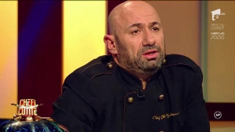 """Robert Csaba vrea să-i impresioneze pe jurați cu preparatul său: """"Pentru mine, bucătăria e artă"""""""