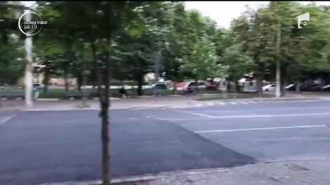 """Dorel lovește din nou! O """"trambulină"""" de pe un bulevard principal din Ploieşti îi transformă pe șoferi în cascadori"""