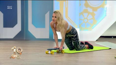 Fitness la Neatza! Antrenament cu skateboard și role