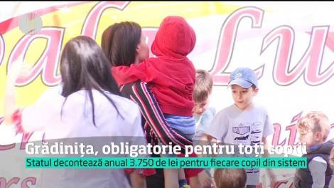 """Anunț OFICIAL al Ministerului Educației: """"TOȚI COPIII DIN ROMÂNIA vor fi obligați să meargă la... grădiniță!"""""""