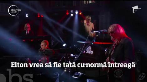 Elton John s-a retras din muzică, la îndemnul copiilor