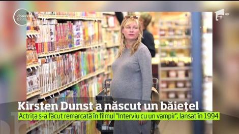 Kirsten Dunst a devenit mamă pentru prima dată