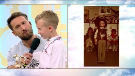 """Dani Oțil și-a găsit sosia și are doar patru ani! Cei doi sunt identici! """"Vino să îți spun ceva..."""""""