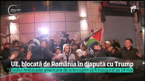 Uniunea Europeană, blocată de România în disputa cu Donald Trump