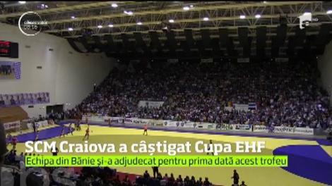 Victorie răsunătoare pentru handbalistele din Craiova. Au câştigat CUPA EHF, al doilea trofeu ca importanţă la nivel european