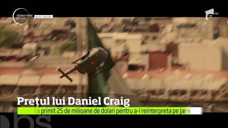 Daniel Craig a primit 25 de milioane de dolari pentru a-l reinterpreta pe James Bond