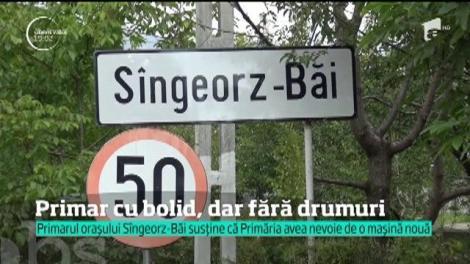 Primarul din orașul Sîngeorz-Băi are bolid! Edilul susține că Primăria avea nevoie de o mașină nouă