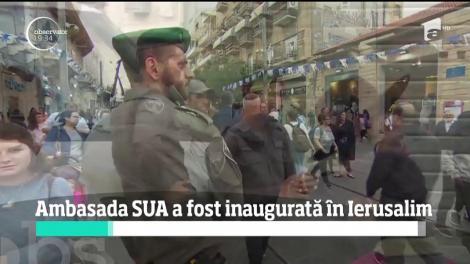 Ambasada SUA în Israel a fost inaugurată oficial în Ierusalim