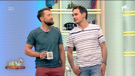 """Aveți grijă, domnilor! Răzvan și Dani, teoria iubitelor vegetariene: """"Dacă pe masă vezi un pui, trebuie să vezi dincolo de pui"""""""