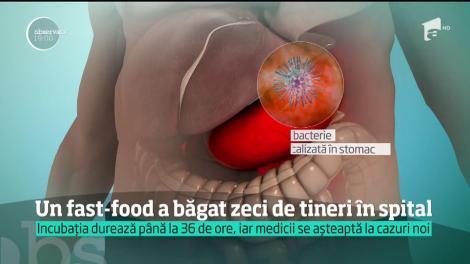 Cincizeci de oameni au ajuns la spital după ce au mâncat la o shaormerie din Iaşi!