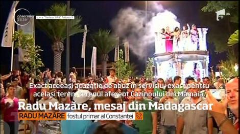 Radu Mazăre, mesaj din Madagascar.  Fostul edil a fost condamnat la șase ani și șase luni de închisoare