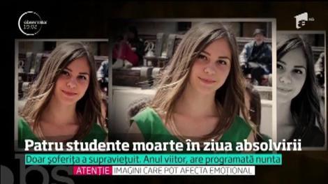 Patru studente moarte în ziua absolvirii
