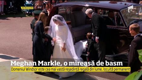 Meghan Markle și-a făcut apariția! Toți au amuțit când au văzut rochia!