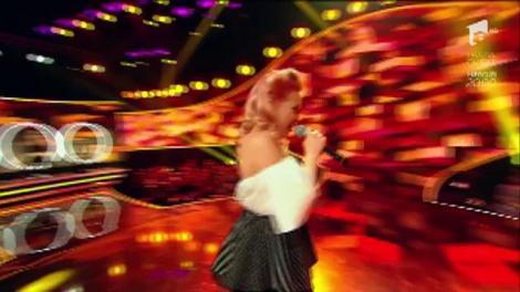 """Britney Spears , Oops!...I Did It Again. Vezi cum cântă  Amalia Uruc, la """"The Four - Cei 4""""!"""