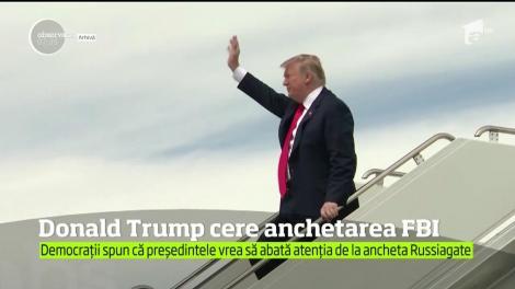 Preşedintele Donald Trump declară război pe faţă Biroului Federal de Investigaţii