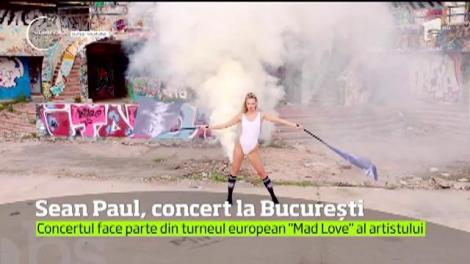 Celebrul cântăreţ Sean Paul vine în România pentru un concert inedit!