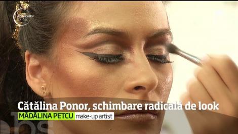 Cătălina Ponor a intrat şi ea în jocul transformărilor radicale de look