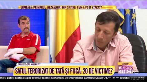 Viceprimarul, Dumitru Vişan, din Comuna Pănătău, judeţul Buzău, despre teroare iscată printre oameni