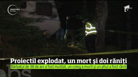 Curiozitate fatală pentru un muncitor de la o exploatare forestieră din Bacău