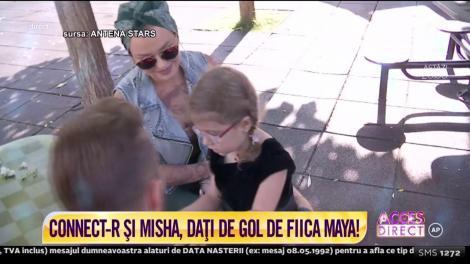 Connect-R şi Misha, daţi de gol de fiica lor!