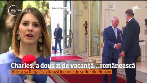Prințul Charles, a doua zi de vacanță românească. Alteța Sa a ajuns la reședința de la Viscri