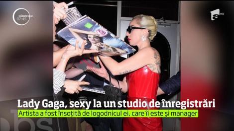 Apariţie provocatoare pentru Lady Gaga la New York