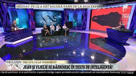 Jean de la Craiova şi Vali Vijelie s-au războit în teste de inteligenţă!