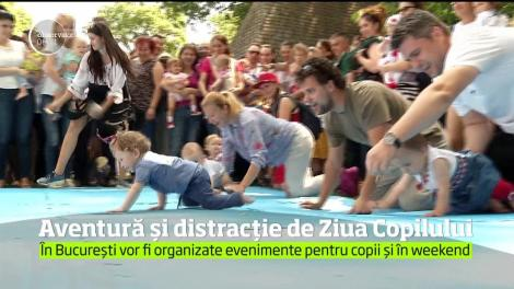 Aventură și distracție de Ziua Copilului. Peste patru mii de copii au petrecut alături de părinți în parcul de aventuri