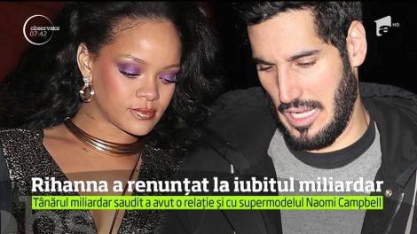 Rihanna a renunțat la iubitul miliardar. Tânărul miliardar saudit a avut o relație și cu supermodelul Naomi Campbell