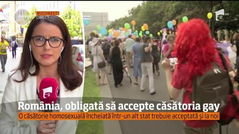 România, obligată să recunoască şi să accepte căsătoriile gay