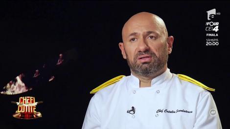 """Cătălin Scărlătescu îl pune la zid pe Amedeo: """"Pleacă de aici, lasă-ne în pace, tu nu lucrezi în echipă"""""""