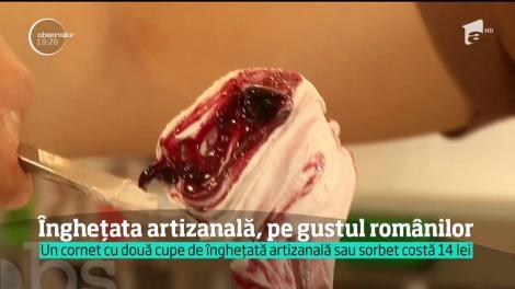 Sorbetul, o înghețată din fructe fără grăsimi din lapte, special pentru cei care țin la siluetă