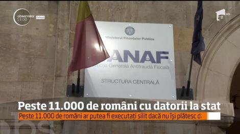 Lista neagră a datornicilor ANAF a fost făcută publică